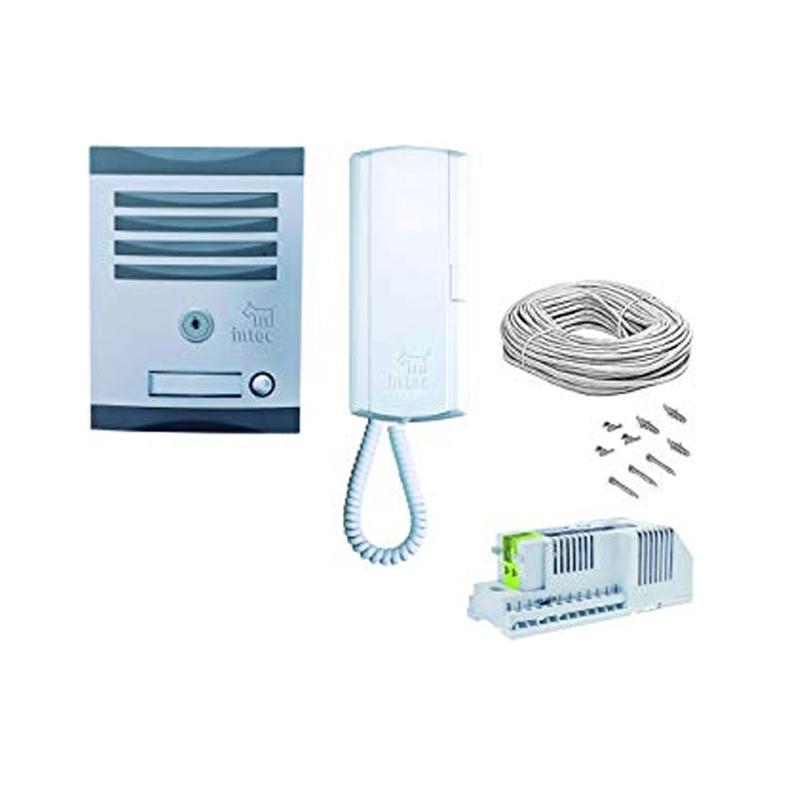 Kit de interfón sencillo para casa 1 Teléfono